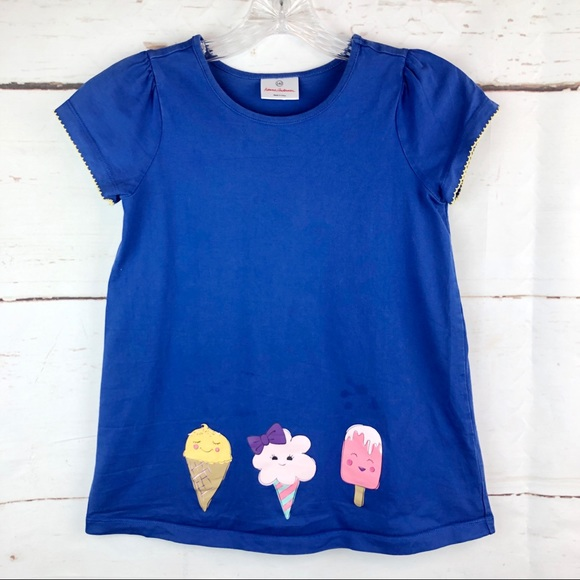 Hanna Andersson Other - Hanna Andersson | Ice Cream Tee, Size 7y